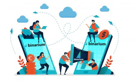 How to join Affiliate Program and become a Partner in Binarium