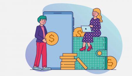 Binarycentで預金をする方法