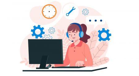 Cách liên hệ với bộ phận hỗ trợ Binarycent