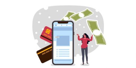 Binarycent में लॉगिन और पैसे कैसे जमा करें