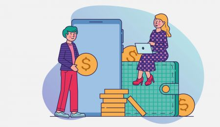 Cách gửi tiền vào Binarycent