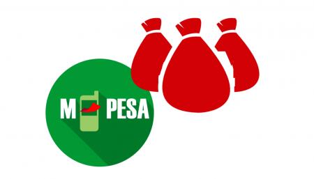 ケニア経由のBinomoへの預金資金(M-Pesa)