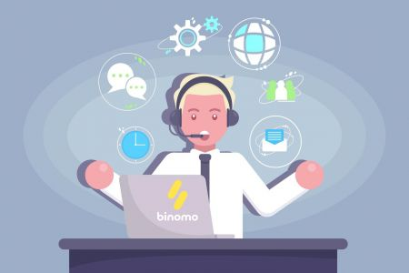 Cách liên hệ với bộ phận hỗ trợ Binomo
