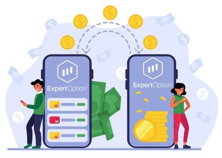 Cách gửi tiền bằng ExpertOption