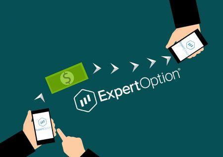 Cách rút tiền từ ExpertOption