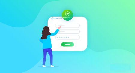 Cách mở tài khoản giao dịch trong ExpertOption