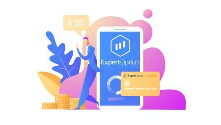Cách đăng nhập và rút tiền từ ExpertOption