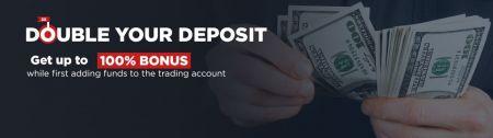 FINMAX Double Deposit - Tiền thưởng lên đến 100%