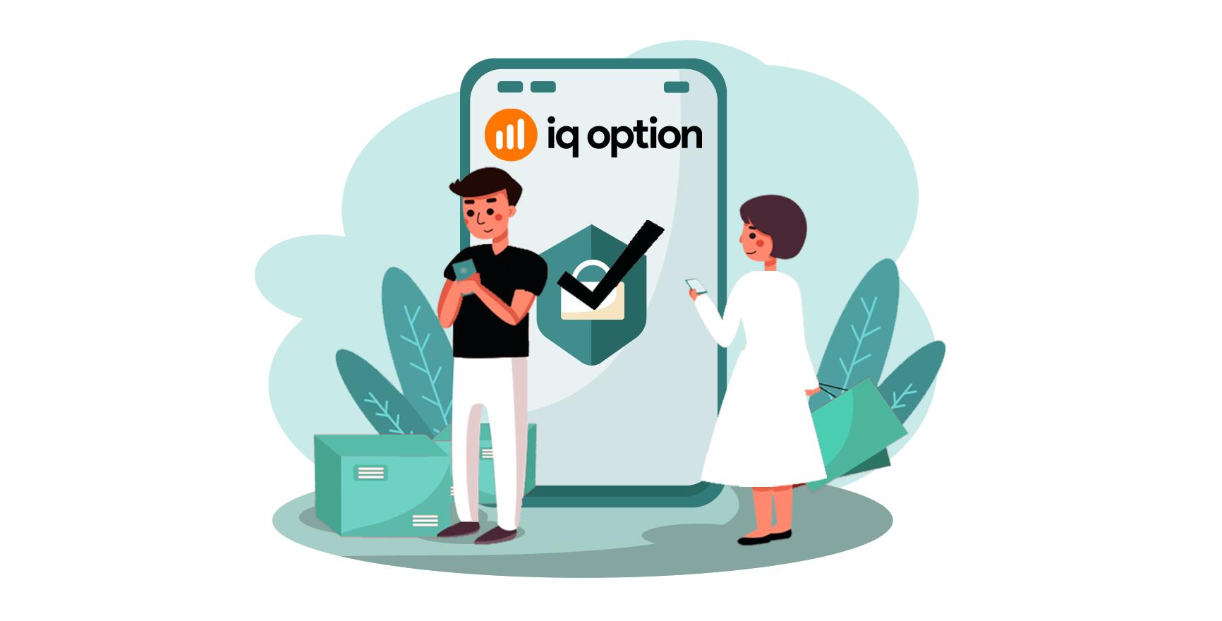 Comment ouvrir un compte de trading dans IQ Option