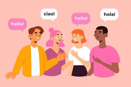 IQcent 多言語サポート