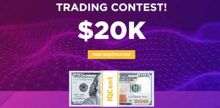 Cuộc thi giao dịch IQcent - Giải thưởng lên tới 20.000 đô la