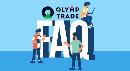 Câu hỏi thường gặp (FAQ) về Xác minh, Gửi tiền và Rút tiền trong Olymp Trade