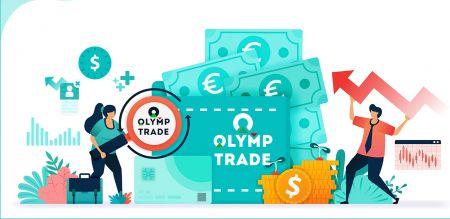 Cách gửi tiền trong Olymp Trade