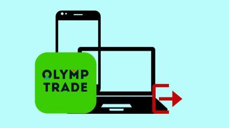 Bagaimana cara Keluar dari Akun Olymp Trade?