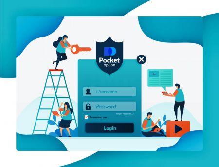 Cách đăng nhập và xác minh tài khoản trong Pocket Option