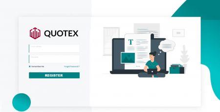 Comment créer un compte et s'inscrire auprès de Quotex
