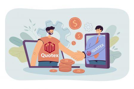 Cách tham gia Chương trình liên kết và trở thành Đối tác trong Quotex
