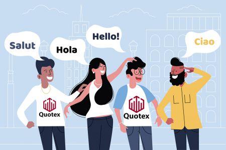 Hỗ trợ đa ngôn ngữ Quotex