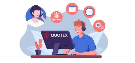 Cách liên hệ với bộ phận hỗ trợ của Quotex