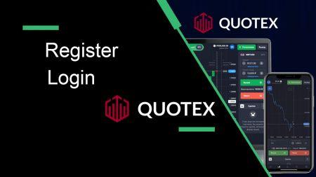 Cách đăng ký và đăng nhập tài khoản trong Quotex