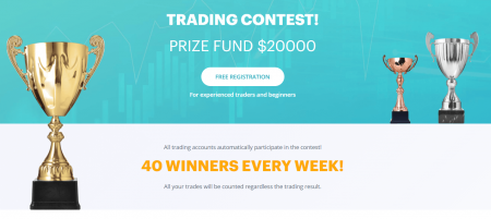 Raceoption Trading Contest- $20,000 Prize Fund