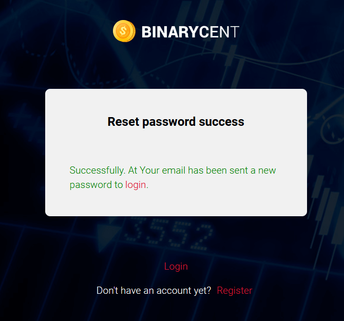 How to Login and Deposit Money in Binarycent