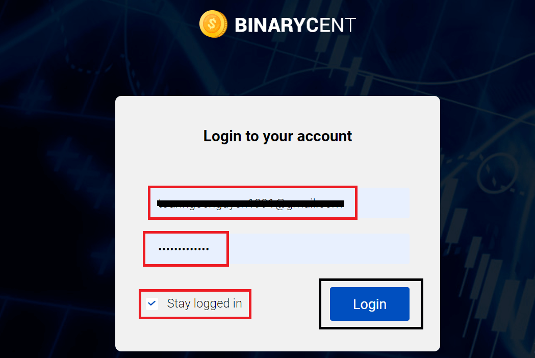 How to Open Account and Withdraw Money at Binarycent