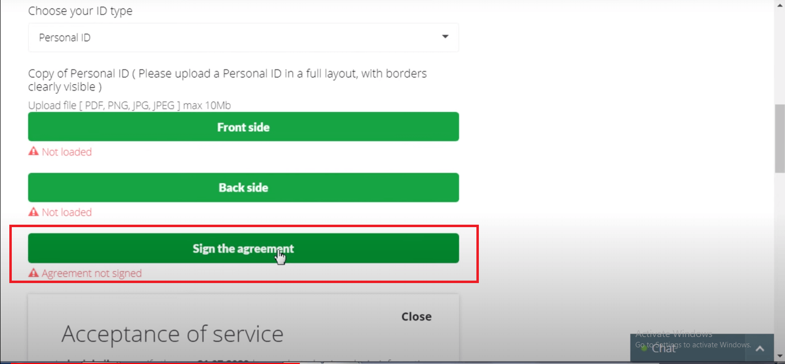 How to Verify Binarycent Account