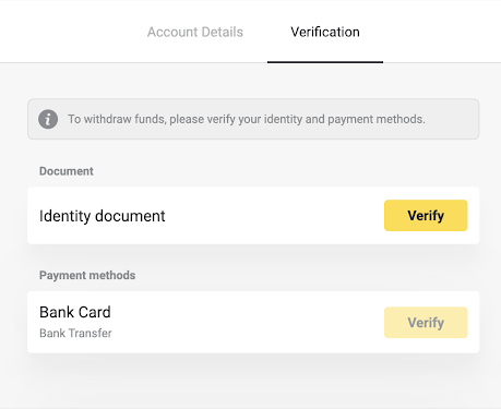 How to Login and Verify Account in Binomo