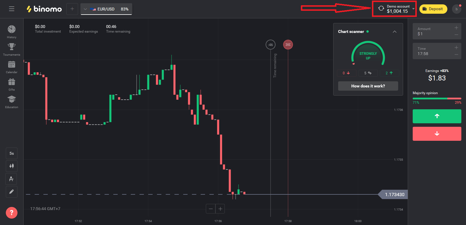 How to Open a Trading Account in Binomo