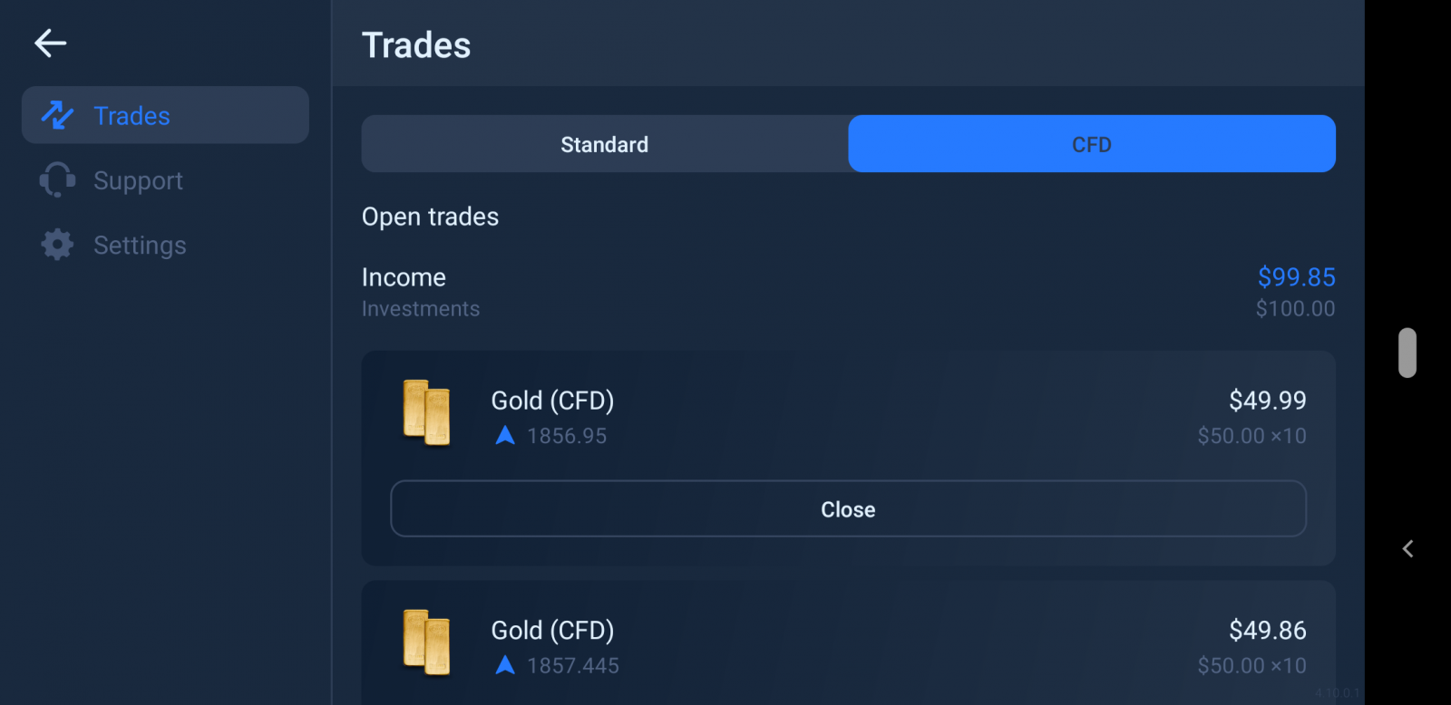 How to Trade on CFD in Binomo