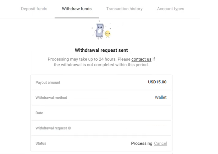 How to Withdraw and Make a Deposit Money in Binomo