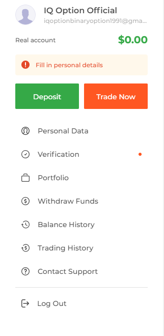 How to Open Account and Sign in to IQ Option