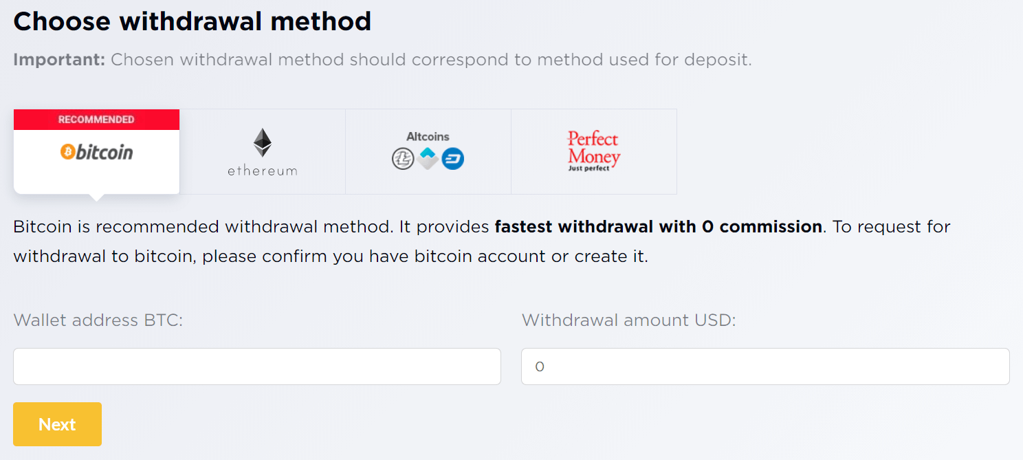 How to Withdraw Money from IQcent?