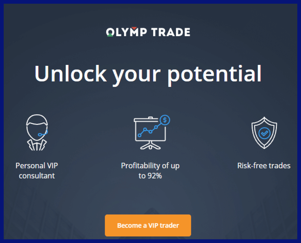 How many Account Types on Olymp Trade