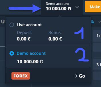 Come registrare un account Olymp Trade