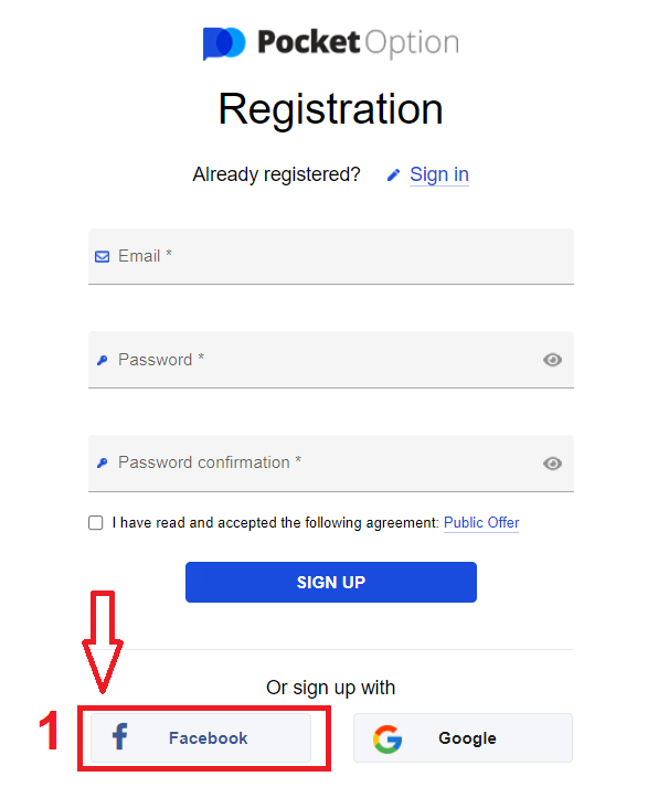 How to Sign Up and Deposit Money at Pocket Option