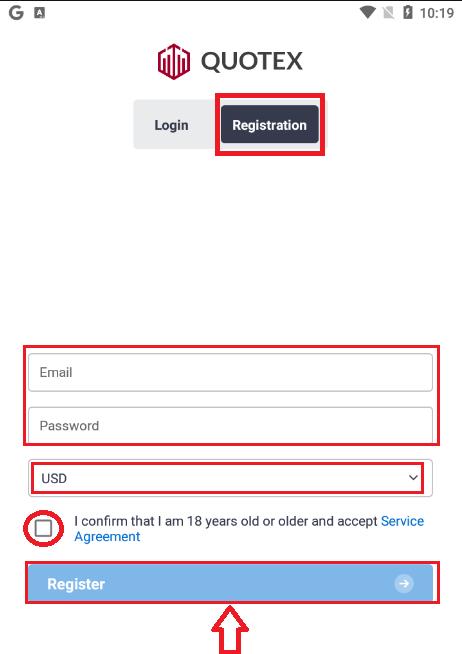 Comment enregistrer et vérifier un compte dans Quotex