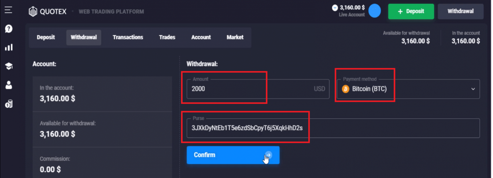 How to Sign in and Withdraw Money from Quotex