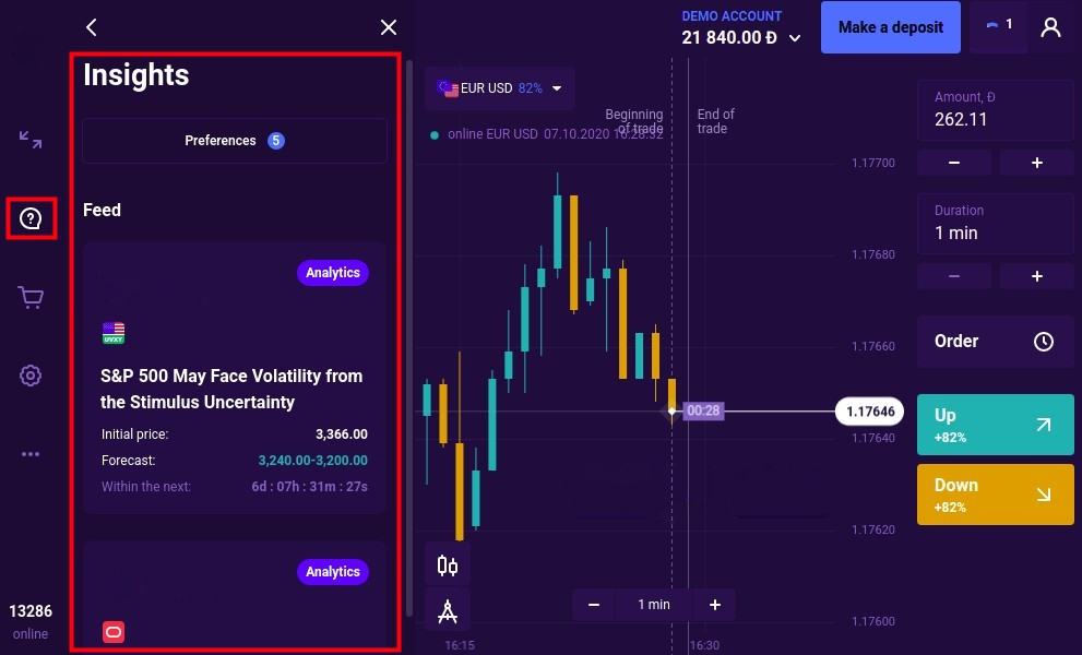 Quotex Insights – better than any economic calendar